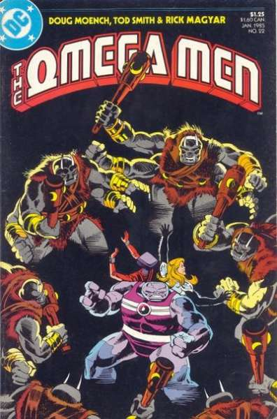 Omega Men #22 comic books for sale