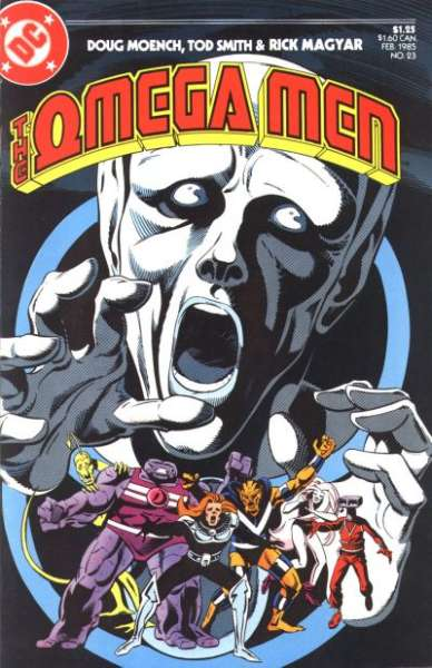Omega Men #23 Comic Books - Covers, Scans, Photos  in Omega Men Comic Books - Covers, Scans, Gallery