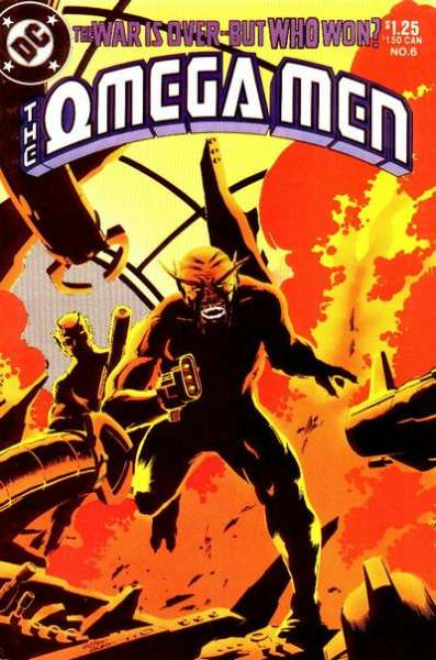 Omega Men #6 Comic Books - Covers, Scans, Photos  in Omega Men Comic Books - Covers, Scans, Gallery