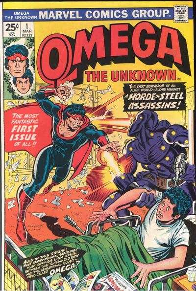 Omega the Unknown #1 comic books for sale