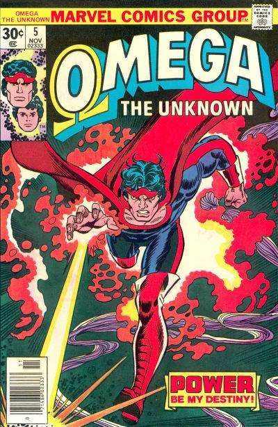 Omega the Unknown #5 comic books - cover scans photos Omega the Unknown #5 comic books - covers, picture gallery