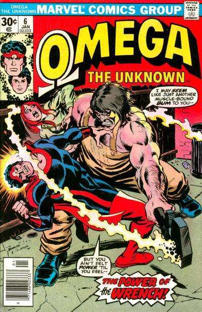 Omega the Unknown #6 comic books - cover scans photos Omega the Unknown #6 comic books - covers, picture gallery