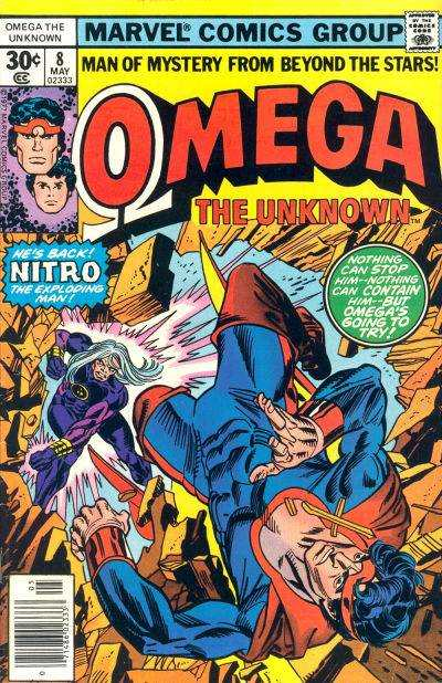 Omega the Unknown #8 Comic Books - Covers, Scans, Photos  in Omega the Unknown Comic Books - Covers, Scans, Gallery