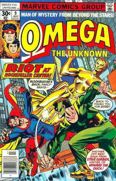 Omega the Unknown #9 comic books - cover scans photos Omega the Unknown #9 comic books - covers, picture gallery