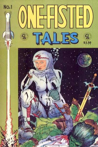 One-Fisted Tales comic books