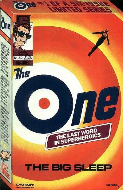 One #1 comic books - cover scans photos One #1 comic books - covers, picture gallery