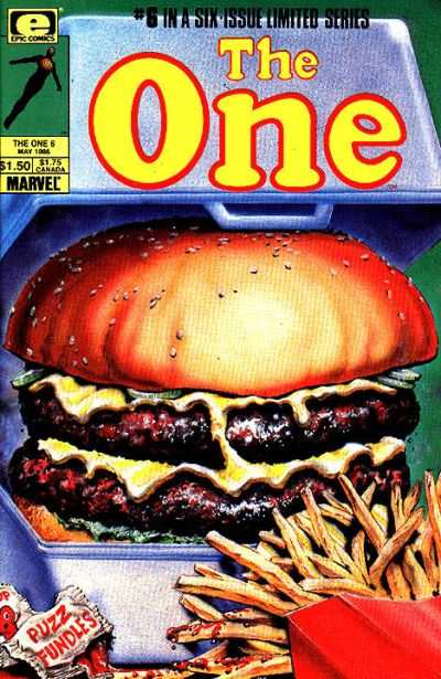 One #6 Comic Books - Covers, Scans, Photos  in One Comic Books - Covers, Scans, Gallery