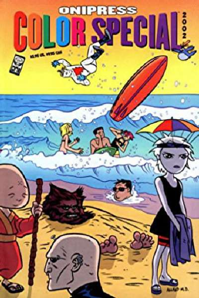 Oni Press Color Special 2002 #1 comic books - cover scans photos Oni Press Color Special 2002 #1 comic books - covers, picture gallery