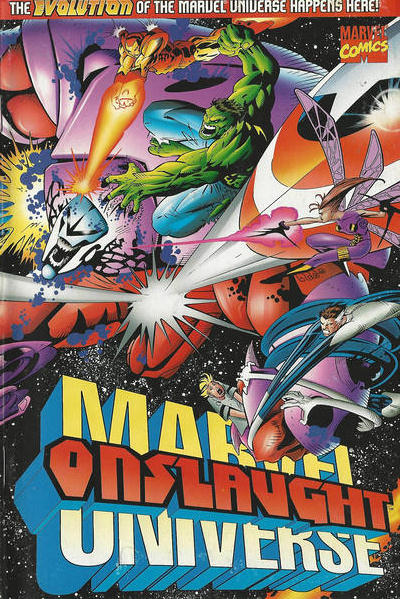 Onslaught: Marvel Comic Books. Onslaught: Marvel Comics.