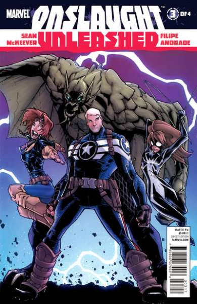 Onslaught Unleashed #3 comic books for sale