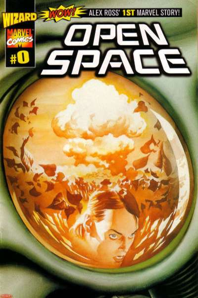 Open Space #0 comic books - cover scans photos Open Space #0 comic books - covers, picture gallery
