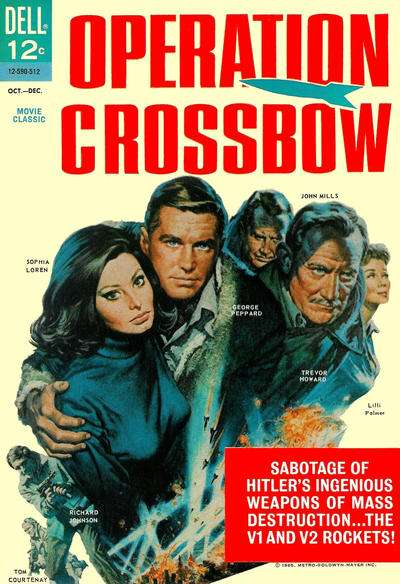 Operation Crossbow #1 comic books for sale