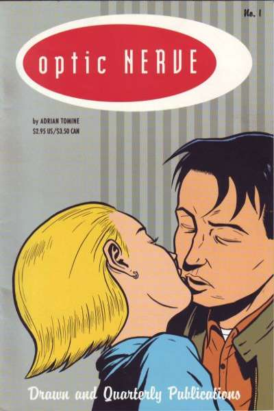 Optic Nerve comic books