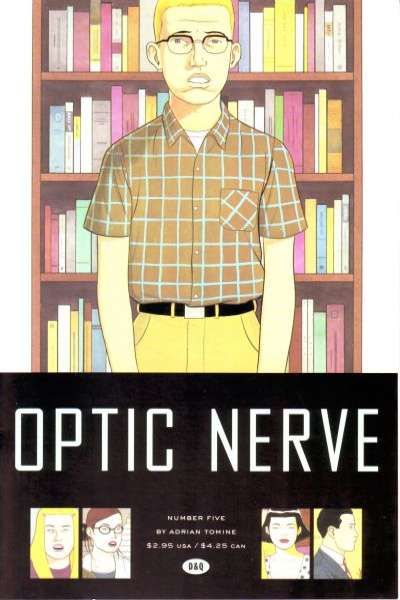 Optic Nerve #5 comic books - cover scans photos Optic Nerve #5 comic books - covers, picture gallery