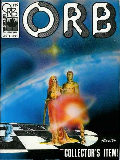 Orb Magazine #1 Comic Books - Covers, Scans, Photos  in Orb Magazine Comic Books - Covers, Scans, Gallery