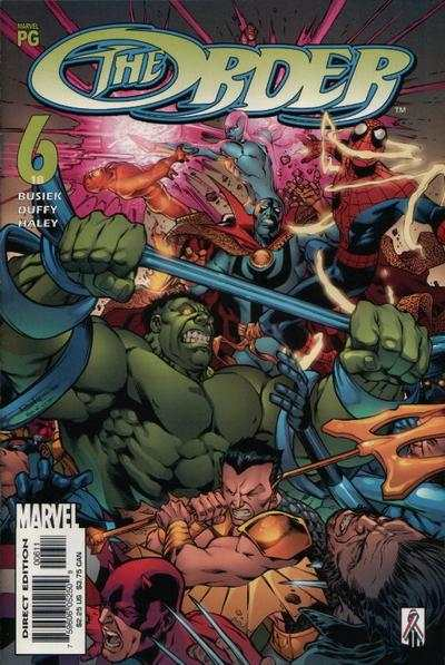 Order #6 cheap bargain discounted comic books Order #6 comic books