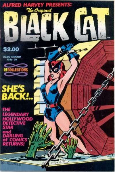 Original Black Cat #1 comic books - cover scans photos Original Black Cat #1 comic books - covers, picture gallery