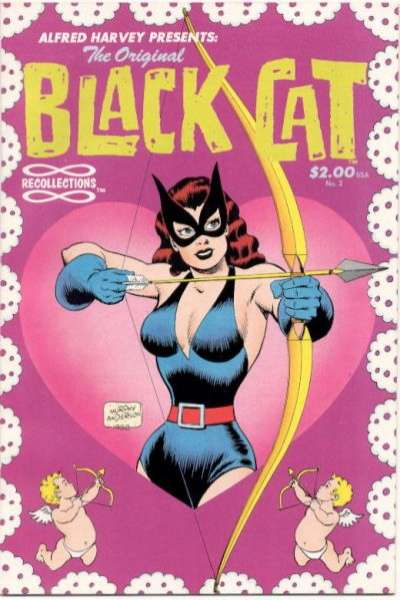 Original Black Cat #2 Comic Books - Covers, Scans, Photos  in Original Black Cat Comic Books - Covers, Scans, Gallery