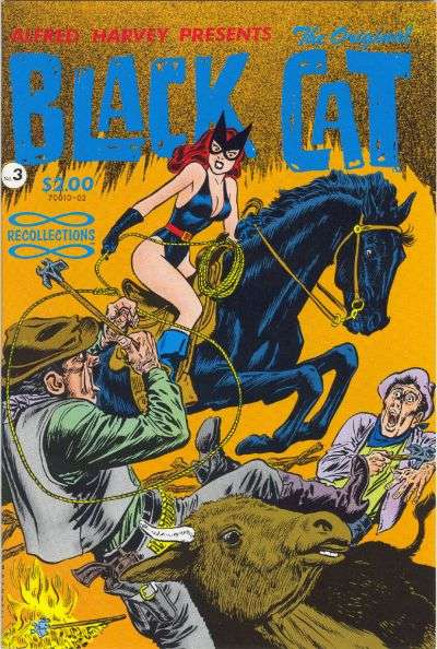 Original Black Cat #3 Comic Books - Covers, Scans, Photos  in Original Black Cat Comic Books - Covers, Scans, Gallery
