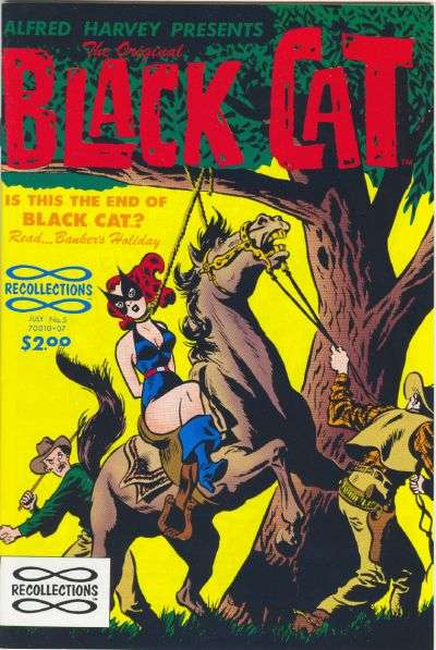 Original Black Cat #5 Comic Books - Covers, Scans, Photos  in Original Black Cat Comic Books - Covers, Scans, Gallery