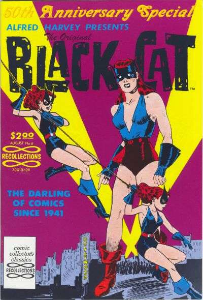 Original Black Cat #6 Comic Books - Covers, Scans, Photos  in Original Black Cat Comic Books - Covers, Scans, Gallery