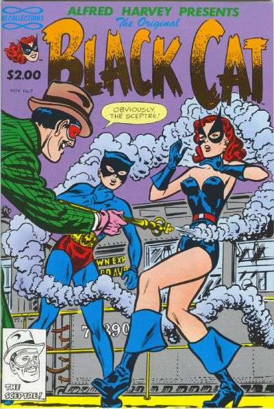 Original Black Cat #7 Comic Books - Covers, Scans, Photos  in Original Black Cat Comic Books - Covers, Scans, Gallery