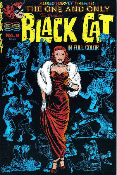 Original Black Cat #9 comic books - cover scans photos Original Black Cat #9 comic books - covers, picture gallery