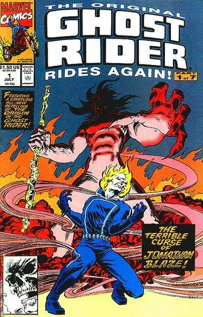 Original Ghost Rider Rides Again comic books