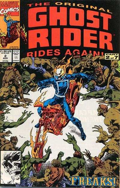 Original Ghost Rider Rides Again #2 comic books - cover scans photos Original Ghost Rider Rides Again #2 comic books - covers, picture gallery