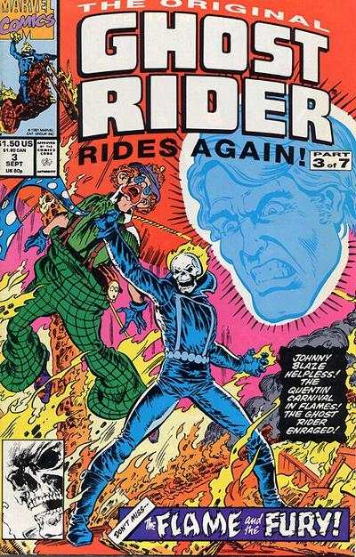 Original Ghost Rider Rides Again #3 comic books - cover scans photos Original Ghost Rider Rides Again #3 comic books - covers, picture gallery