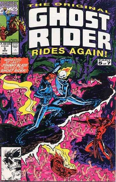 Original Ghost Rider Rides Again #5 comic books - cover scans photos Original Ghost Rider Rides Again #5 comic books - covers, picture gallery
