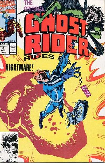 Original Ghost Rider Rides Again #6 comic books - cover scans photos Original Ghost Rider Rides Again #6 comic books - covers, picture gallery