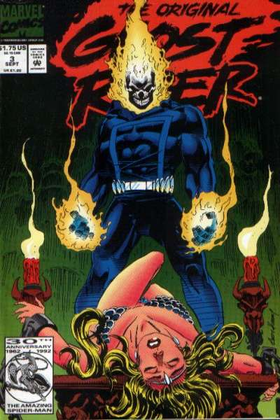 Original Ghost Rider #3 Comic Books - Covers, Scans, Photos  in Original Ghost Rider Comic Books - Covers, Scans, Gallery
