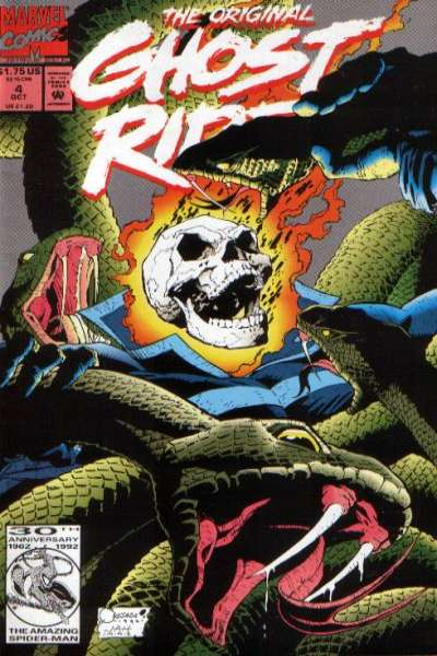 Original Ghost Rider #4 Comic Books - Covers, Scans, Photos  in Original Ghost Rider Comic Books - Covers, Scans, Gallery