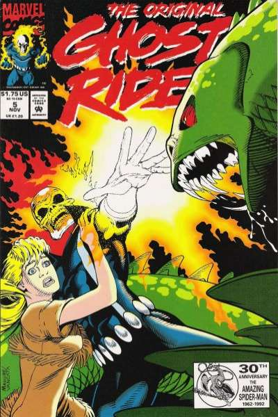 Original Ghost Rider #5 Comic Books - Covers, Scans, Photos  in Original Ghost Rider Comic Books - Covers, Scans, Gallery