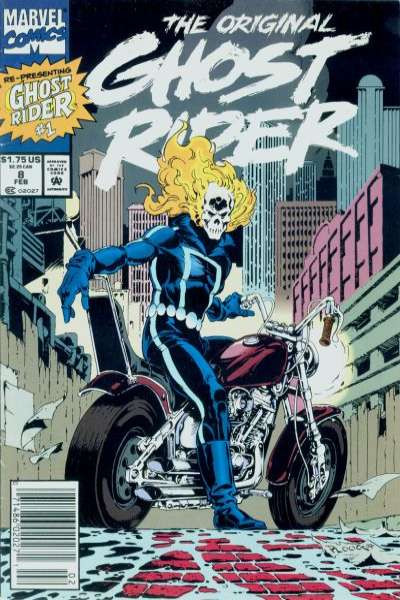 Original Ghost Rider #8 Comic Books - Covers, Scans, Photos  in Original Ghost Rider Comic Books - Covers, Scans, Gallery