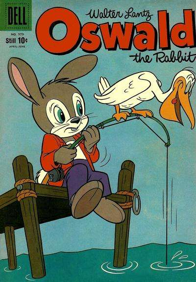 Oswald the Rabbit #19 comic books - cover scans photos Oswald the Rabbit #19 comic books - covers, picture gallery