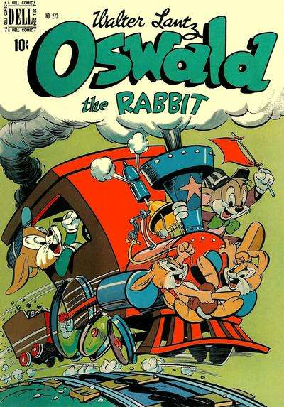 Oswald the Rabbit #8 comic books - cover scans photos Oswald the Rabbit #8 comic books - covers, picture gallery