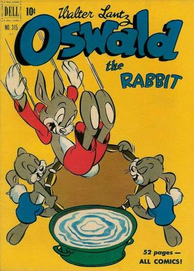 Oswald the Rabbit #9 comic books - cover scans photos Oswald the Rabbit #9 comic books - covers, picture gallery