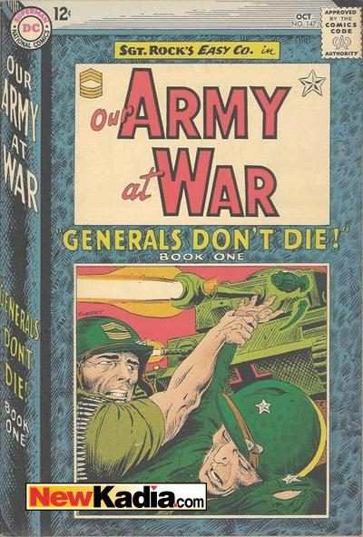 Our Army at War #147 Comic Books - Covers, Scans, Photos  in Our Army at War Comic Books - Covers, Scans, Gallery