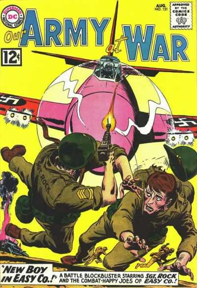 Our Army at War #121 Comic Books - Covers, Scans, Photos  in Our Army at War Comic Books - Covers, Scans, Gallery