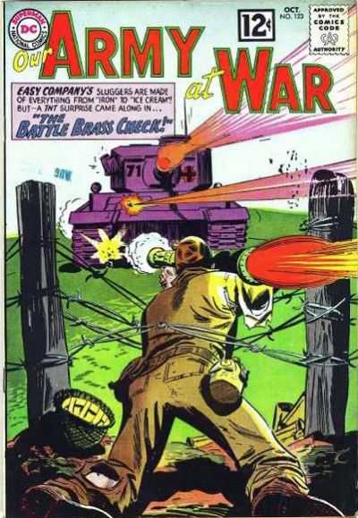 Our Army at War #123 comic books - cover scans photos Our Army at War #123 comic books - covers, picture gallery