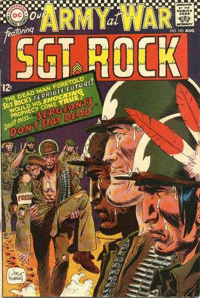 Our Army at War #183 comic books - cover scans photos Our Army at War #183 comic books - covers, picture gallery