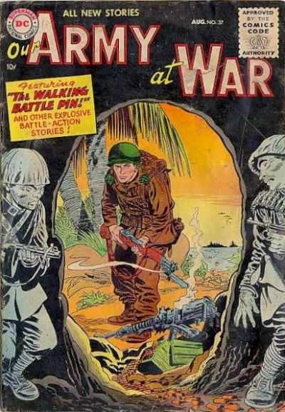 Our Army at War #37 Comic Books - Covers, Scans, Photos  in Our Army at War Comic Books - Covers, Scans, Gallery