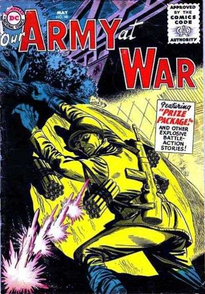 Our Army at War #46 Comic Books - Covers, Scans, Photos  in Our Army at War Comic Books - Covers, Scans, Gallery