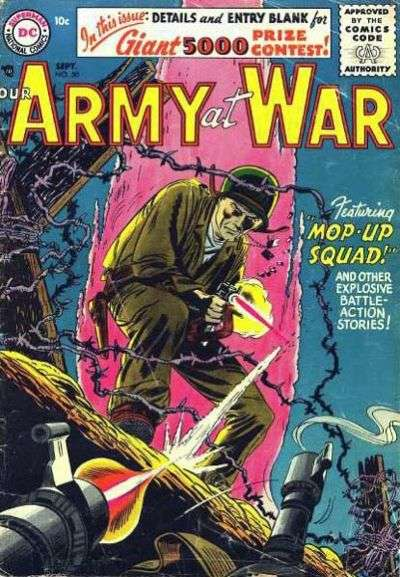 Our Army at War #50 Comic Books - Covers, Scans, Photos  in Our Army at War Comic Books - Covers, Scans, Gallery