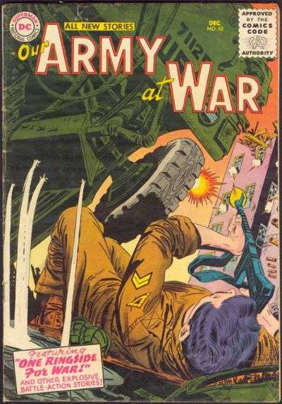 Our Army at War #53 Comic Books - Covers, Scans, Photos  in Our Army at War Comic Books - Covers, Scans, Gallery