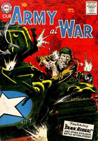 Our Army at War #64 Comic Books - Covers, Scans, Photos  in Our Army at War Comic Books - Covers, Scans, Gallery