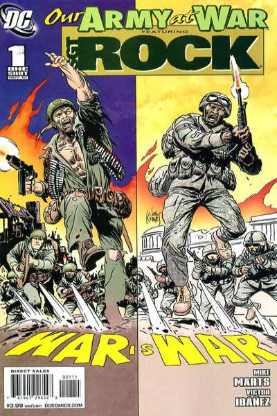 Our Army at War #1 comic books - cover scans photos Our Army at War #1 comic books - covers, picture gallery