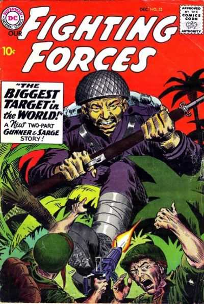Our Fighting Forces #52 comic books - cover scans photos Our Fighting Forces #52 comic books - covers, picture gallery